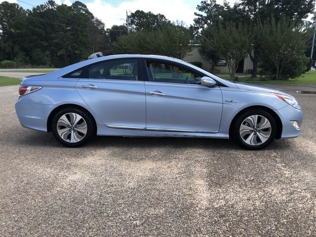 2015 Blue Sky Metallic Hyundai Sonata Hybrid Limited Sedan 2.4L 4-Cylinder Atkinson-Cycle Hybrid Engine Automatic