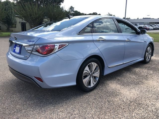 2015 Blue Sky Metallic Hyundai Sonata Hybrid Limited 4 Door FWD Automatic