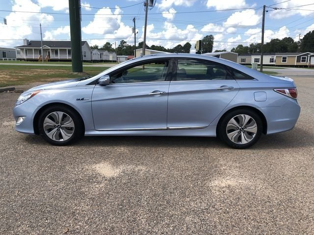 2015 Blue Sky Metallic Hyundai Sonata Hybrid Limited Automatic FWD 2.4L 4-Cylinder Atkinson-Cycle Hybrid Engine Sedan 4 Door