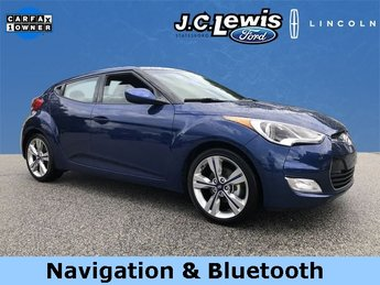 2017 Pacific Blue Pearl Hyundai Veloster Value Edition Automatic Hatchback FWD 3 Door 1.6L 4-Cylinder DGI DOHC Engine