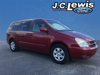 2006 Claret Red Kia Sedona EX FWD Automatic Van 4 Door