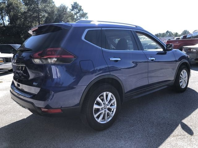 2017 Caspian Blue Nissan Rogue SV FWD 4 Door 2.5L I4 DOHC 16V Engine SUV