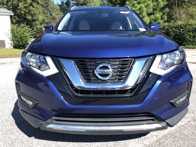 2017 Caspian Blue Nissan Rogue SV FWD Automatic (CVT) 4 Door