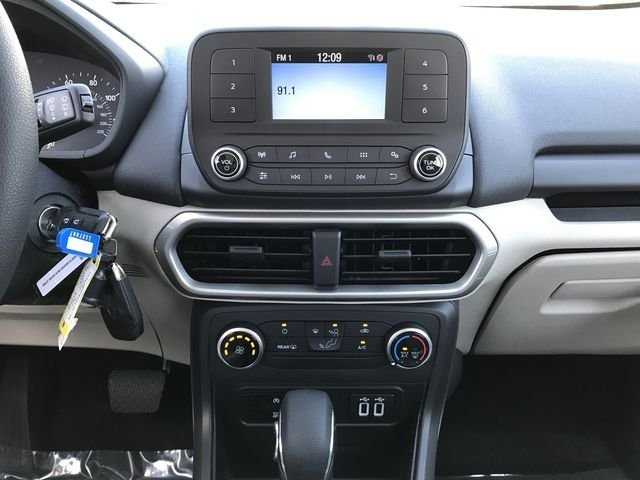 2018 Ford EcoSport S SUV Automatic EcoBoost 1.0L I3 GTDi DOHC Turbocharged VCT Engine 4 Door FWD