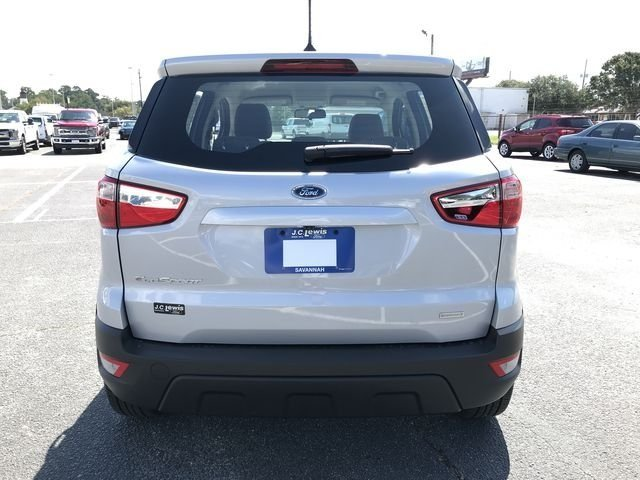 2018 Ford EcoSport S 4 Door Automatic FWD EcoBoost 1.0L I3 GTDi DOHC Turbocharged VCT Engine