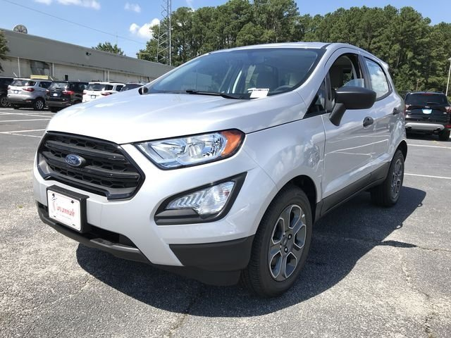 2018 Moondust Silver Metallic Ford EcoSport S SUV Automatic FWD