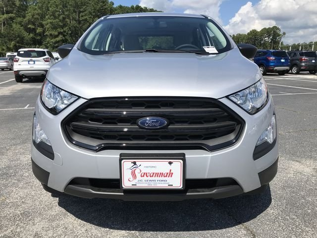 2018 Moondust Silver Metallic Ford EcoSport S FWD SUV Automatic EcoBoost 1.0L I3 GTDi DOHC Turbocharged VCT Engine