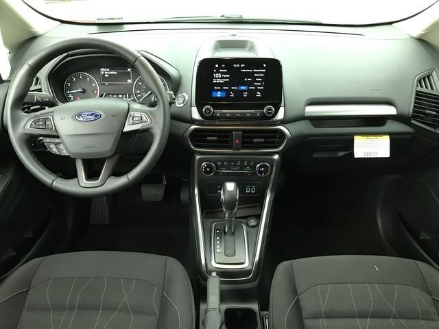 2018 Race Red Ford EcoSport SE FWD SUV Automatic