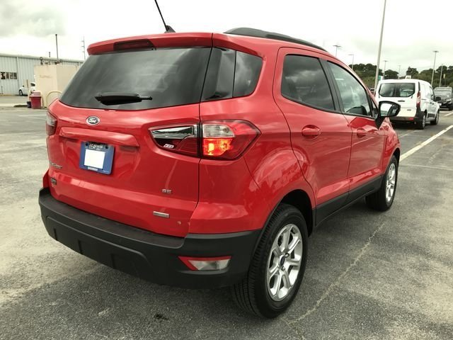 2018 Race Red Ford EcoSport SE FWD SUV 4 Door