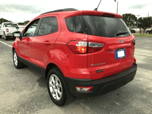 2018 Ford EcoSport SE EcoBoost 1.0L I3 GTDi DOHC Turbocharged VCT Engine 4 Door Automatic SUV
