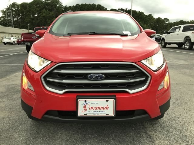 2018 Race Red Ford EcoSport SE SUV 4 Door FWD