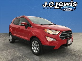 2018 Ford EcoSport SE SUV EcoBoost 1.0L I3 GTDi DOHC Turbocharged VCT Engine 4 Door FWD