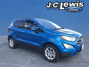 2018 Ford EcoSport SE EcoBoost 1.0L I3 GTDi DOHC Turbocharged VCT Engine 4 Door SUV FWD