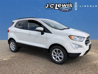 2018 Diamond White Ford EcoSport SE 4 Door EcoBoost 1.0L I3 GTDi DOHC Turbocharged VCT Engine Automatic