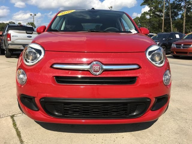 2016 Rosso Passione (Red Hypnotique Clear Coat) FIAT 500X Easy SUV 2.4L I4 MultiAir Engine Automatic FWD 4 Door