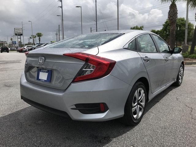 2017 Honda Civic LX FWD 2.0L I4 DOHC 16V i-VTEC Engine Sedan