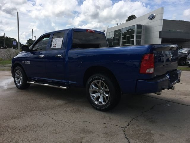 2016 Blue Streak Pearlcoat Ram 1500 Express RWD Truck HEMI 5.7L V8 Multi Displacement VVT Engine 4 Door