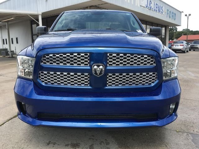 2016 Blue Streak Pearlcoat Ram 1500 Express RWD Automatic Truck HEMI 5.7L V8 Multi Displacement VVT Engine 4 Door