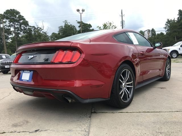 2017 Red Ford Mustang EcoBoost Automatic 2 Door Coupe