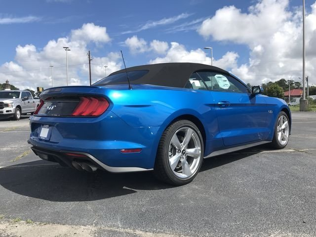 2019 Blue Metallic Ford Mustang GT Premium Automatic 5.0L V8 Ti-VCT Engine Convertible