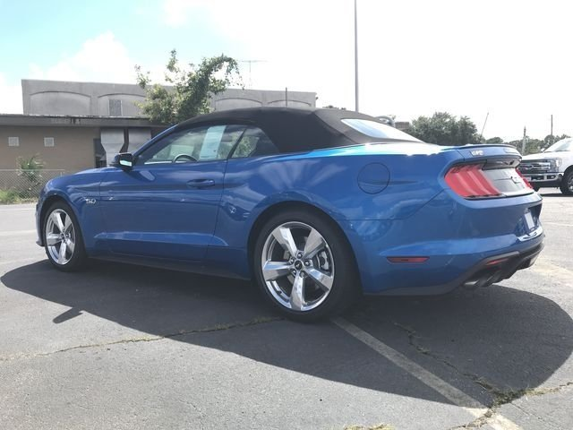 2019 Blue Metallic Ford Mustang GT Premium 5.0L V8 Ti-VCT Engine RWD 2 Door Automatic