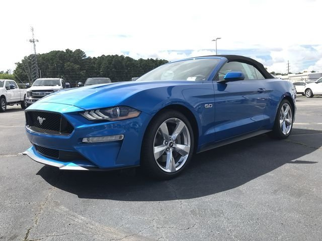 2019 Ford Mustang GT Premium Convertible RWD Automatic 2 Door