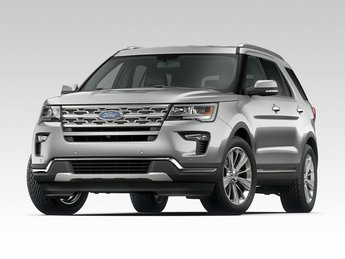 2018 Ford Explorer XLT SUV 3.5L V6 Ti-VCT Engine FWD 4 Door Automatic