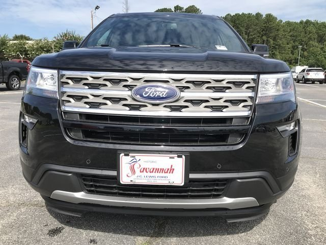 2018 Shadow Black Ford Explorer XLT Automatic 2.3L I4 Engine FWD SUV 4 Door