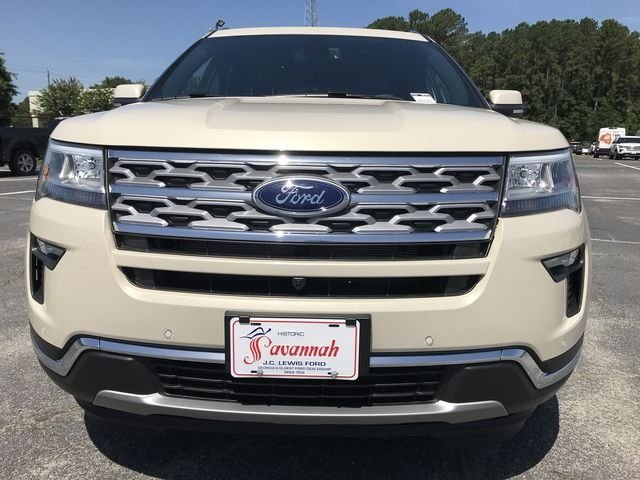 2018 Platinum Dune Metallic Tri-Coat Ford Explorer Limited 3.5L V6 Ti-VCT Engine 4 Door SUV FWD Automatic