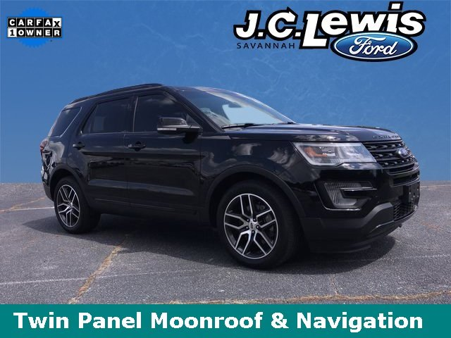 2016 Shadow Black Ford Explorer Sport EcoBoost 3.5L V6 GTDi DOHC 24V Twin Turbocharged Engine Automatic 4 Door