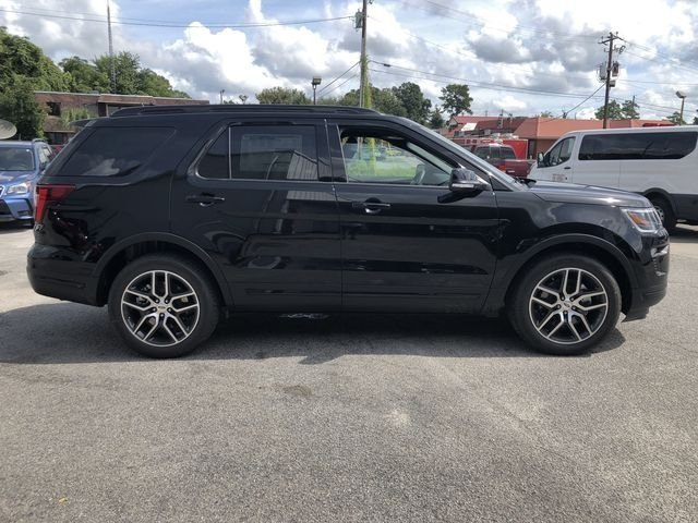 2018 Ford Explorer Sport 4X4 3.5L Engine SUV 4 Door Automatic