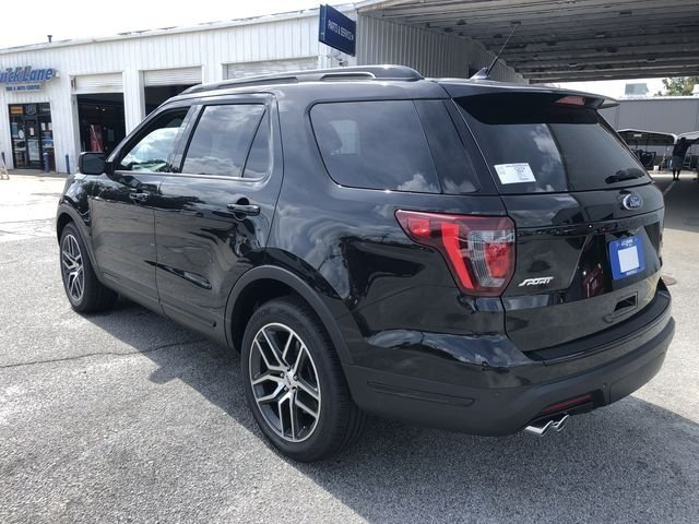 2018 Shadow Black Ford Explorer Sport 4 Door Automatic 4X4 3.5L Engine SUV
