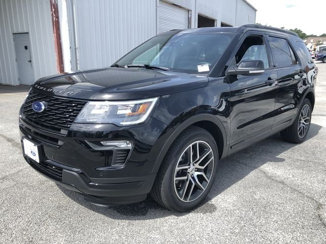 2018 Ford Explorer Sport 4X4 3.5L Engine Automatic SUV