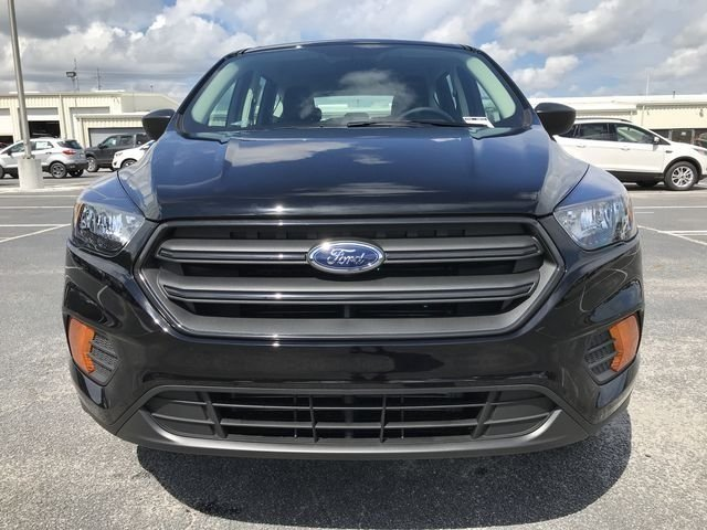 2018 Shadow Black Ford Escape S 2.5L iVCT Engine FWD Automatic SUV