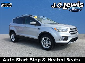 2018 Ford Escape SE SUV Automatic FWD EcoBoost 1.5L I4 GTDi DOHC Turbocharged VCT Engine