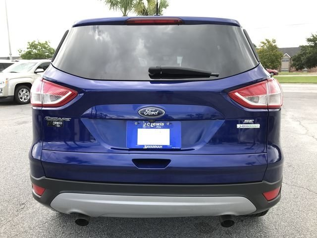 2015 Deep Impact Blue Ford Escape SE FWD SUV 4 Door