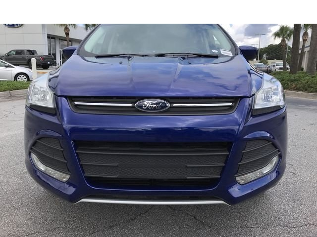 2015 Deep Impact Blue Ford Escape SE EcoBoost 1.6L I4 GTDi DOHC Turbocharged VCT Engine FWD SUV Automatic 4 Door