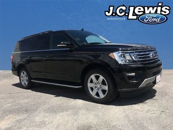 2018 Shadow Black Ford Expedition Max XLT 4 Door SUV EcoBoost 3.5L V6 GTDi DOHC 24V Twin Turbocharged Engine