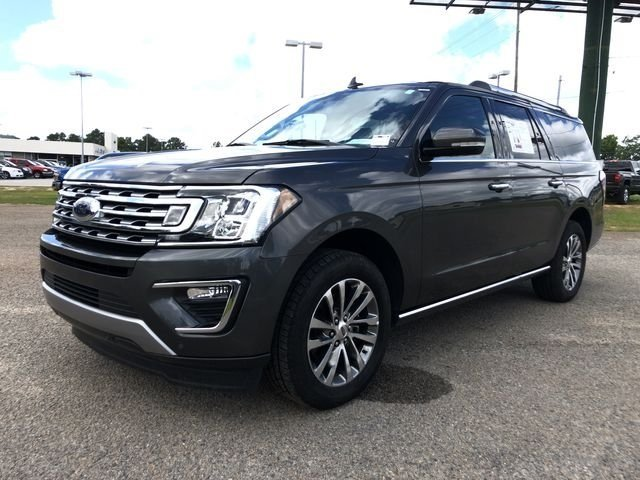2018 Stone Gray Metallic Ford Expedition Max Limited EcoBoost 3.5L V6 GTDi DOHC 24V Twin Turbocharged Engine 4 Door Automatic SUV RWD
