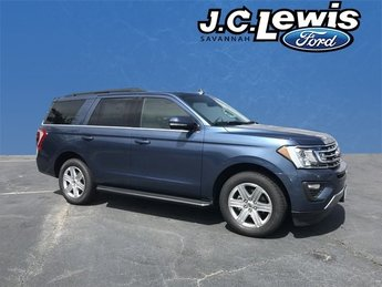 2018 Blue Metallic Ford Expedition XLT SUV RWD Automatic