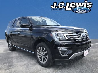 2018 Shadow Black Ford Expedition Limited Automatic RWD 4 Door SUV EcoBoost 3.5L V6 GTDi DOHC 24V Twin Turbocharged Engine