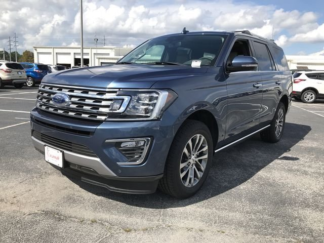2018 Blue Metallic Ford Expedition Limited RWD SUV Automatic