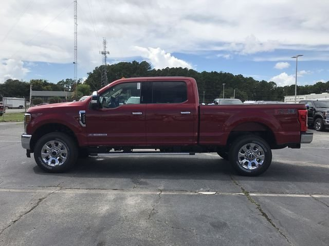 2019 Ruby Red Metallic Tinted Clearcoat Ford Super Duty F-250 SRW Lariat Truck 4 Door Power Stroke 6.7L V8 DI 32V OHV Turbodiesel Engine