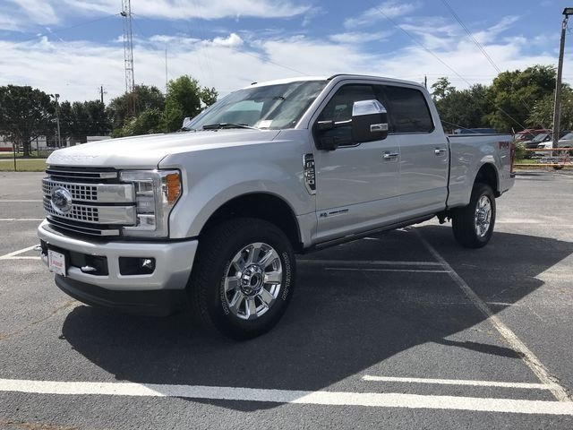 2018 Ford Super Duty F-250 SRW Platinum Truck Automatic 4 Door Power Stroke 6.7L V8 DI 32V OHV Turbodiesel Engine 4X4