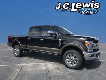 2019 Agate Black Ford Super Duty F-250 SRW King Ranch Automatic 4 Door Power Stroke 6.7L V8 DI 32V OHV Turbodiesel Engine