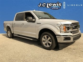2018 Ingot Silver Metallic Ford F-150 XLT Automatic 5.0L V8 Ti-VCT Engine RWD Truck 4 Door
