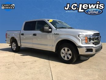 2018 Ingot Silver Metallic Ford F-150 XLT 4 Door Automatic RWD Truck 3.3L V6 Engine