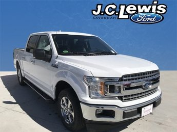 2018 Oxford White Ford F-150 XLT RWD EcoBoost 2.7L V6 GTDi DOHC 24V Twin Turbocharged Engine 4 Door Automatic
