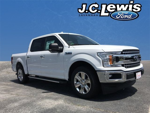 2018 Oxford White Ford F-150 XLT Automatic RWD 4 Door Truck EcoBoost 2.7L V6 GTDi DOHC 24V Twin Turbocharged Engine