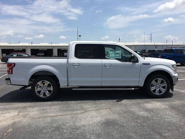 2018 Oxford White Ford F-150 XLT 4 Door RWD Truck EcoBoost 2.7L V6 GTDi DOHC 24V Twin Turbocharged Engine Automatic